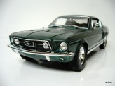 MAISTO 1:18 Ford Mustang GTA Fastback 1967